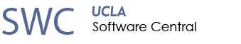 UCLA Software Central (SWC) Office of Information Technology (OIT)